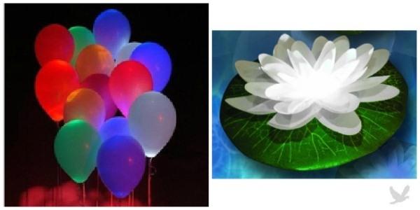 Balloons With Glow Sticks in Them Stick a Few Glow Sticks Inside